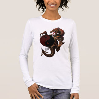 YingYang Dragon Long sleeve Shirt
