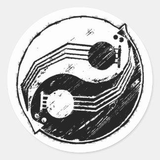 Yinjo Classic Round Sticker