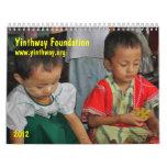 Yinthway Foundation Calendar 2012