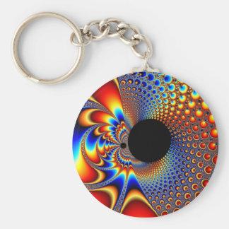YinYang Big Bang - Fractal Keychain