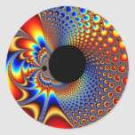 YinYang BigBang - pegatina del fractal