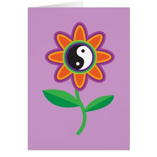 YinYang Daisy Card