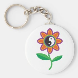 YinYang Daisy Keychains