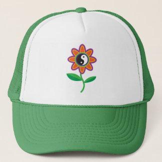 YinYang Daisy Trucker Hat