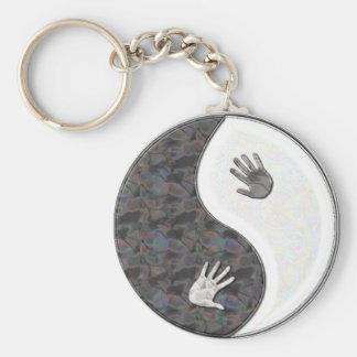yinyang hands keychain