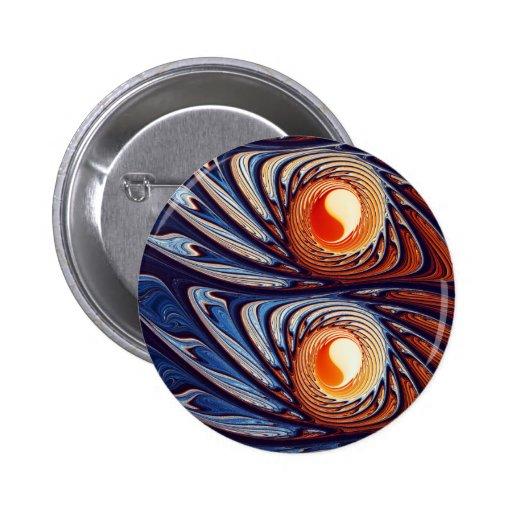 Yinyang Pin Redondo 5 Cm