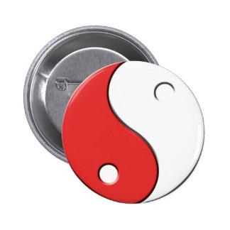 YinYang Pinback Buttons