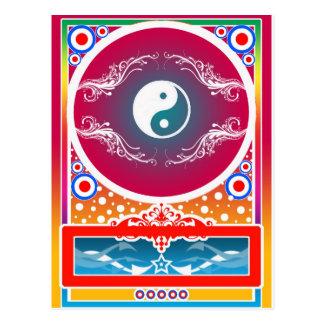 yinyang postcard