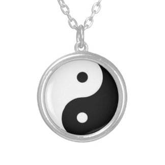 YinYang Round Pendant Necklace
