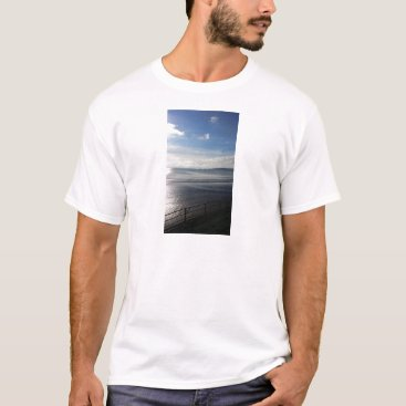 Beach Themed YinYang Summer Mens T-Shirt - Photo Tee Sunpyx