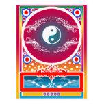 yinyang tarjetas postales
