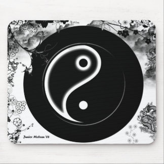 YINYANG: THE ART ITSELF MOUSE PAD
