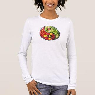 YinYang - Vegan harmony Long Sleeve T-Shirt