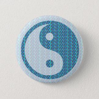 YinYang YIN YANG Balanced Pinback Button