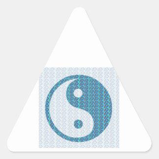 YinYang YIN YANG Balanced Triangle Sticker