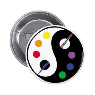 yinyangPalette Pinback Buttons