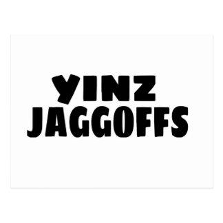 Yinz Jaggoffs Postcard