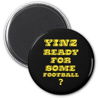 Yinz listo para un cierto fútbol imán
