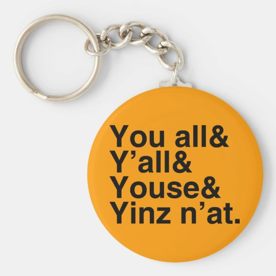 Yinz n'at keychain