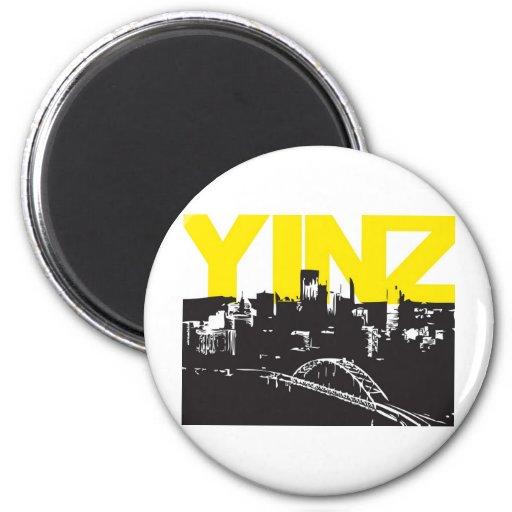 Yinz Pittsburgh Fridge Magnets