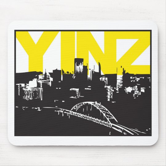 Yinz Pittsburgh Mouse Pad