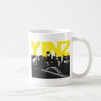 Yinz Pittsburgh Classic White Coffee Mug