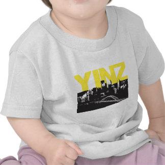 Yinz Pittsburgh Camisetas