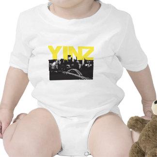 Yinz Pittsburgh Trajes De Bebé