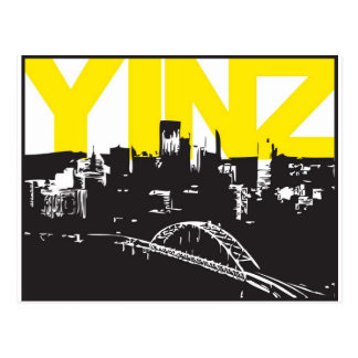 Yinz Pittsburgh Postcard