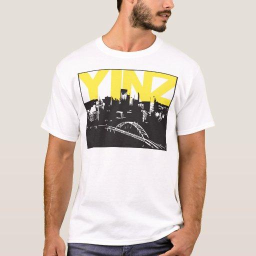 Yinz pittsburgh t shirt zazzle for Pittsburgh t shirt printing