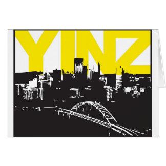 Yinz Pittsburgh Tarjetón
