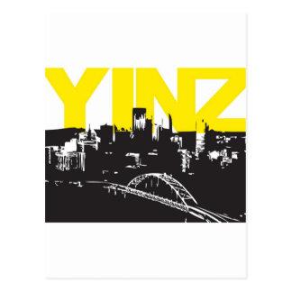 Yinz Pittsburgh Tarjetas Postales