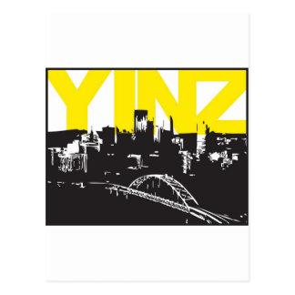 Yinz Pittsburgh Postales