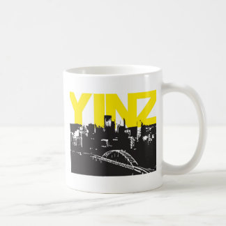 Yinz Pittsburgh Tazas De Café