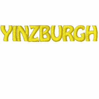 YINZBURGH embroidered hooded sweatshirt