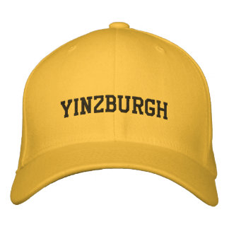 Yinzburgh Inverted Colors Embroidered Hat
