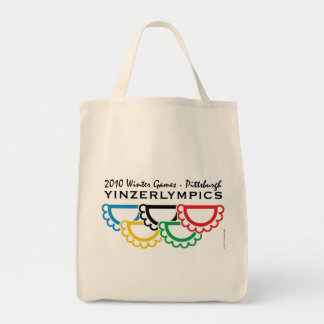Yinzerlympics grocery bag