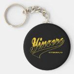 Yinzers Basic Round Button Keychain