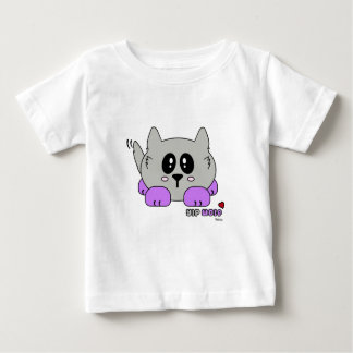 Yip Wolf the Cute Wolf Pudgie Pet by Melody Baby T-Shirt