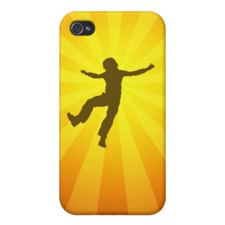 yippee (brown orange) iPhone 4/4S cover