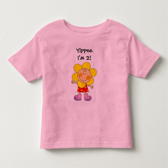 Yippee I'm 2! Toddler T-shirt