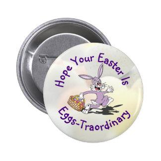 ¡Yippy! ¡Es temporada de caza del huevo de Pascua! Pin
