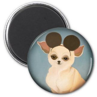 YIP's dog Fridge Magnets