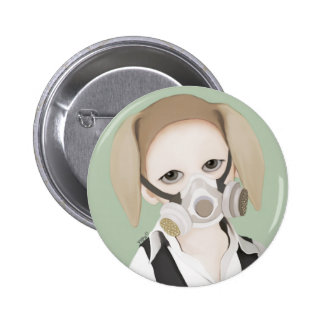 YIP's mask Pinback Button