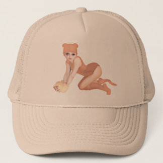 yips piggy trucker hat