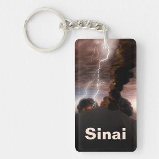Yitro - Mt. Sinai Single-Sided Rectangular Acrylic Keychain