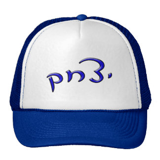 Yitzchak, Anglicized To Isaac - 3d Effect Trucker Hat
