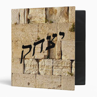 Yitzchak, Isaac - HaKotel (The Western Wall) 3 Ring Binder