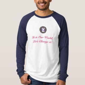 YL - Es nuestro mundo - AZUL Camisas