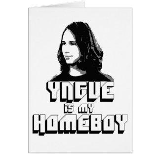 Yngve is my Homeboy! Card